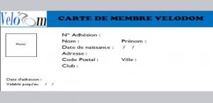 logo carte membre velodom photo
