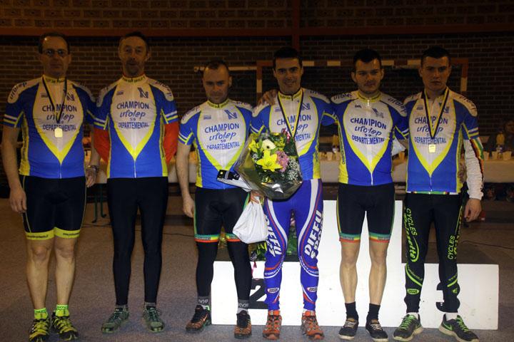 Présentation du Championnat départemental Nord UFOLEP Cyclo cross à Hecq
