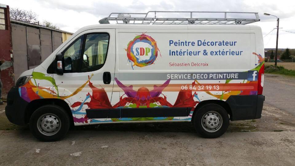 Service d co peinture velodom photo - Decoration interieur camion ...