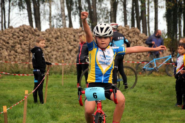 Cyclo cross VTT UFOLEP de Marly ( Ecoles de Cyclisme )