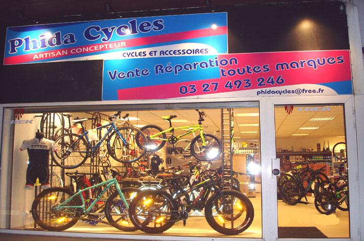 Phida Cycles à Trith St Léger