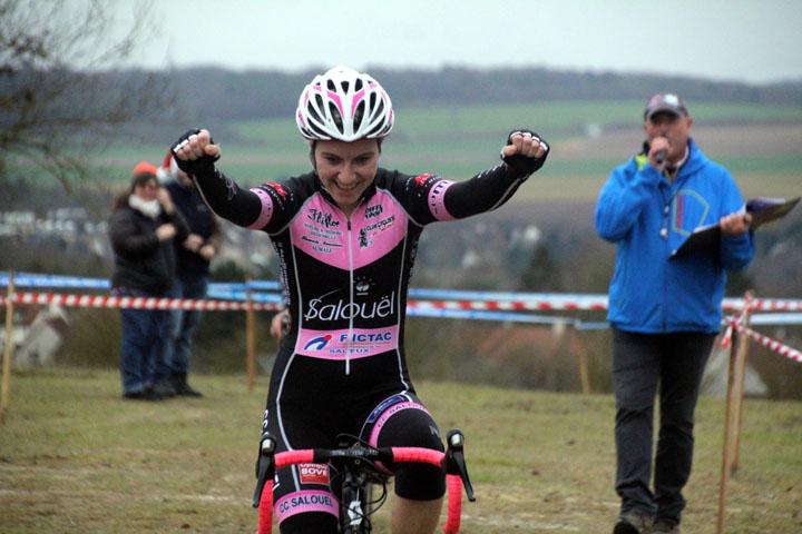 Cyclo cross UFOLEP : Grand Prix de Salouel ( 3ème cat, GS, Min, Cad et Fém )