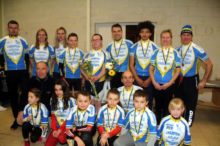 Championnat du Nord UFOLEP cyclo cross à Bergues ( Minimes, Cadets et Féminines )