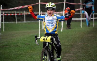 Championnat régional Cyclo cross UFOLEP ( Ecole de cyclisme )