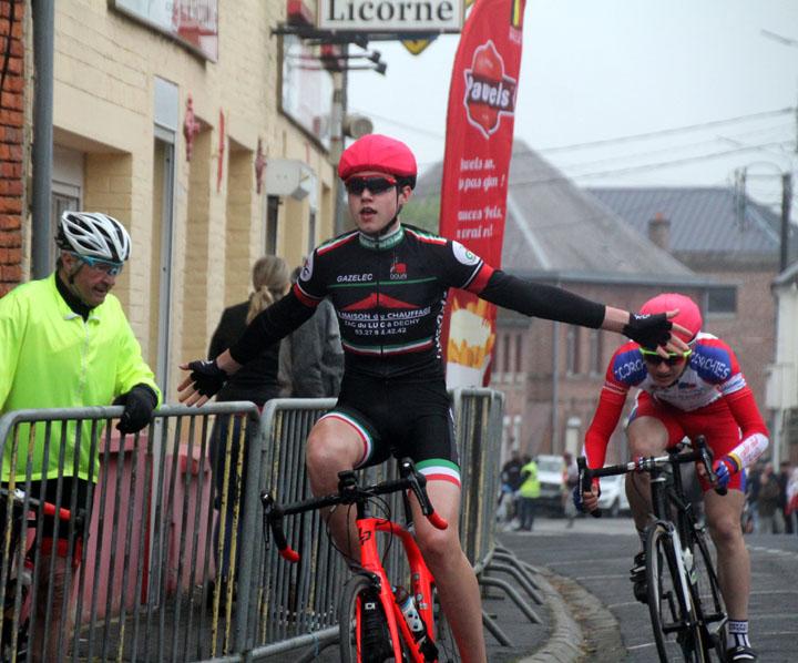 Grand Prix cycliste UFOLEP de Gommegnies ( Minimes – Cadets – Féminines )