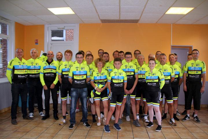 Présentation du Team Saulzoir Montrécourt Cycling Club