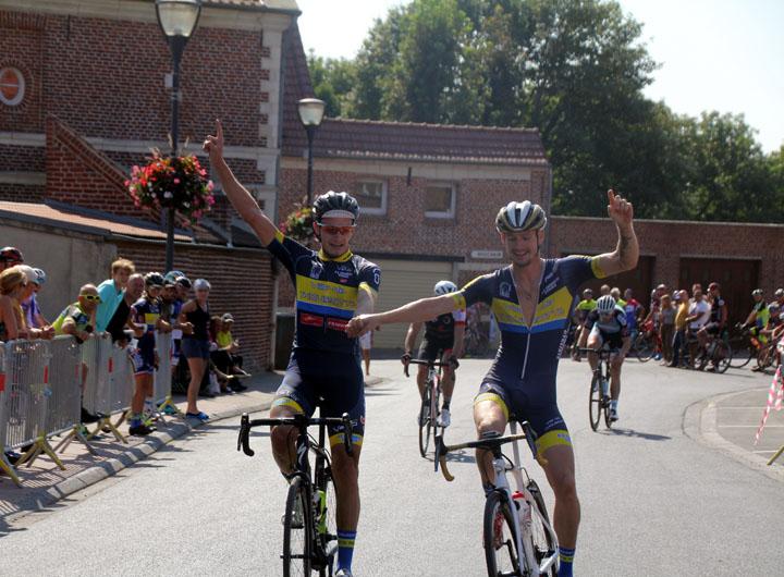 Grand Prix cycliste UFOLEP de Lieu St Amand ( 1ère cat, 3ème cat et cadets )