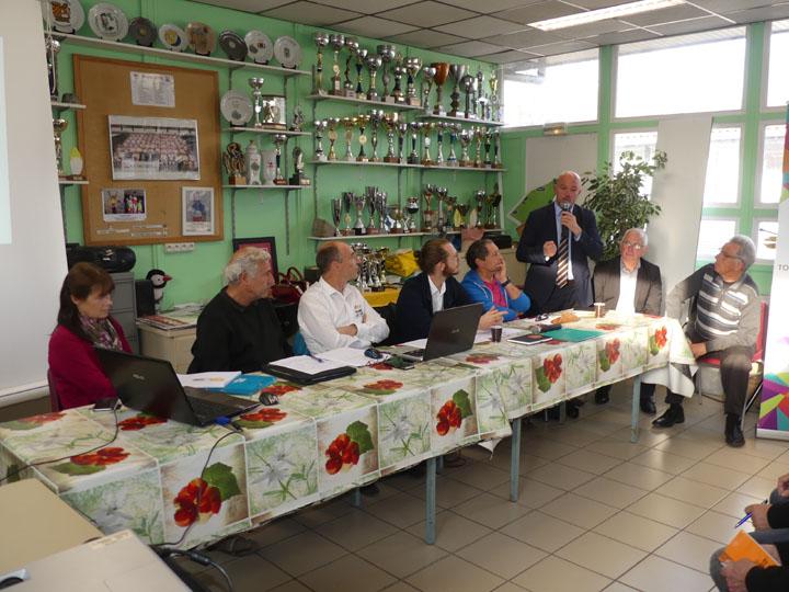 Assemblée générale Cyclosport 2018 à Orchies