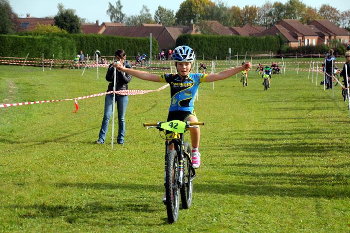 Cyclo cross UFOLEP d'Orchies : ( Ecoles de cyclisme )