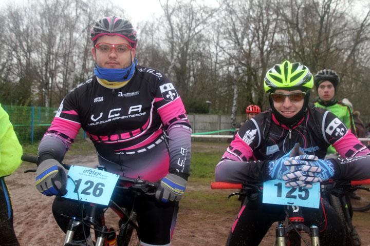 Présentation cyclo cross VTT UFOLEP d'Armentières