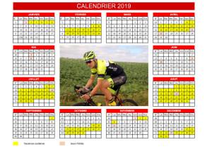calendrier classique 2019 copie