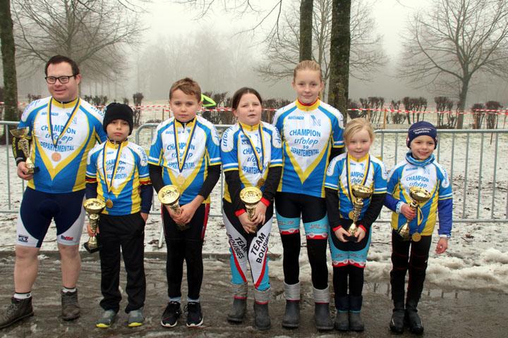 Championnat du Nord cyclo cross UFOLEP à Fourmies ( Ecoles de cyclisme )