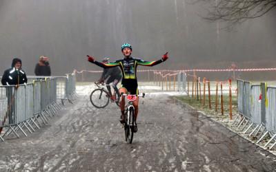 Championnat du Nord cyclo cross UFOLEP à Fourmies ( Minimes Cadets Féminines )