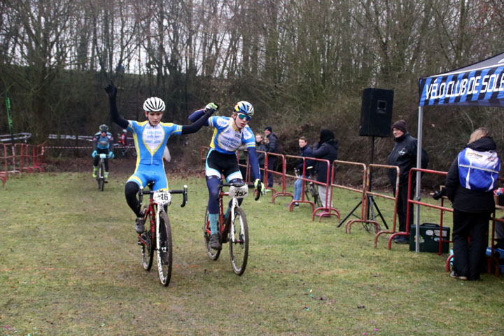 3ème Cyclo cross UFOLEP de Solesmes ( Séniors 1 2 3 cat )