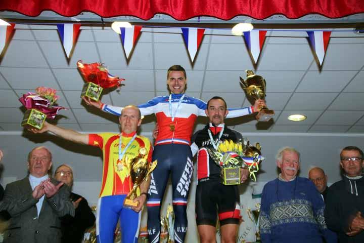 Championnat National Cyclo cross UFOLEP de Salouel ( 40/49 ans )