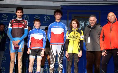 Championnat National Cyclo cross UFOLEP de Salouel ( 15/16 ans masculins Féminines )