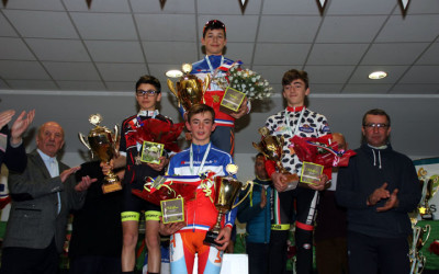 Championnat National Cyclo cross UFOLEP de Salouel ( 11/12ans masculins Féminins )
