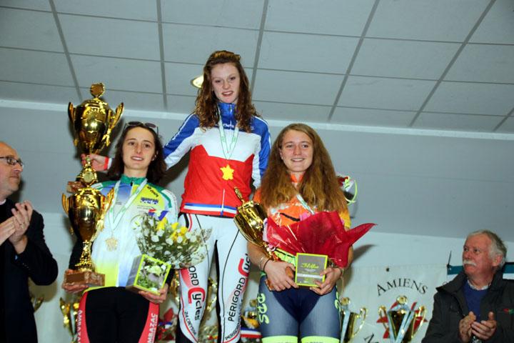 Championnat National Cyclo cross UFOLEP de Salouel ( Féminines )