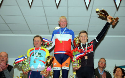 Championnat National Cyclo cross UFOLEP de Salouel ( 50/59 ans Masculins )