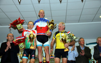 Championnat National Cyclo cross UFOLEP de Salouel ( 60 ans et + masculins )