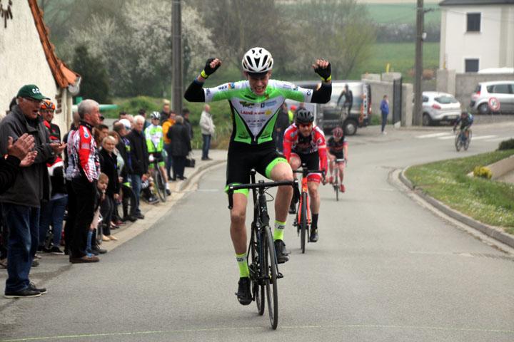 1ère édition du Grand Prix cycliste UFOLEP de Rombly ( 1ère, 3ème cat et cadets )