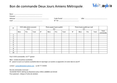 Bon de commande Deux Jours Amiens 2019 copie