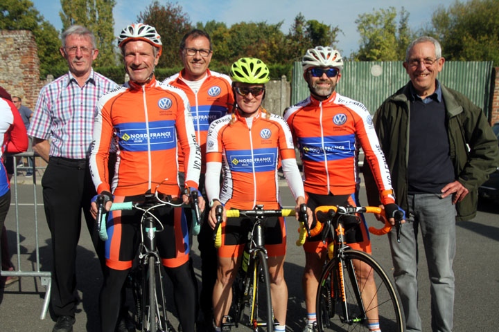 Présentation du Grand Prix cycliste UFOLEP de Lewarde