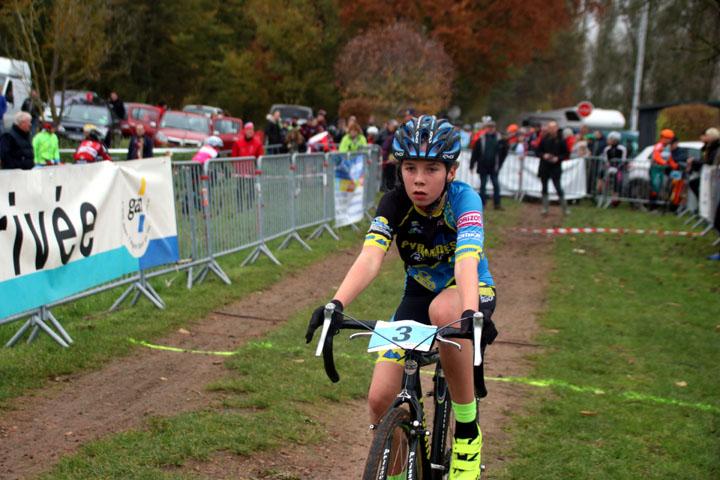Cyclo cross VTT UFOLEP d'Agny ( Ecoles de cyclisme )