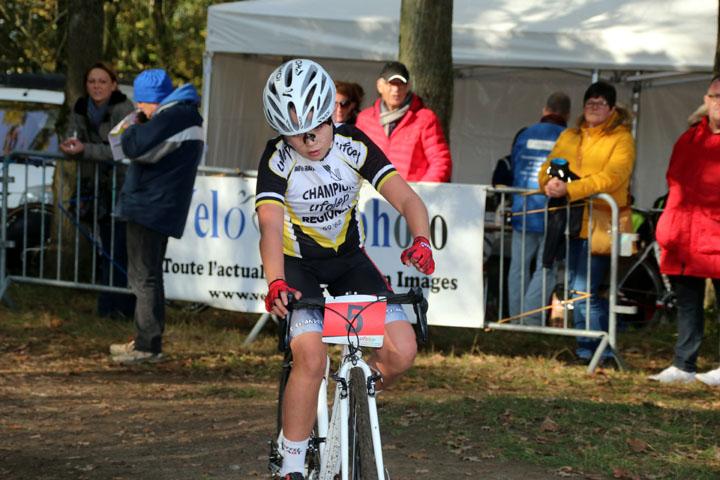 Cyclo cross VTT UFOLEP de Flines lez Mortagne ( Minimes – Cadets et Féminines )