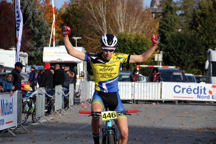 Cyclo cross VTT UFOLEP de Bapaume ( Minimes – Cadets et Féminines )
