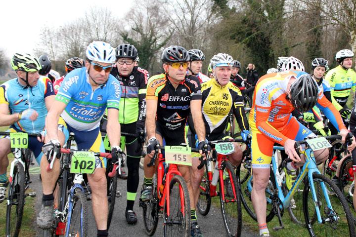 Présentation du Championnat départemental Pas de Calais Cyclo cross UFOLEP à Beuvry