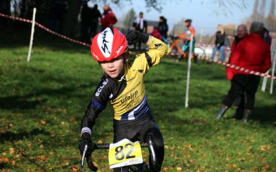 Cyclo cross VTT UFOLEP de Bouvignies ( Ecoles de cyclisme )