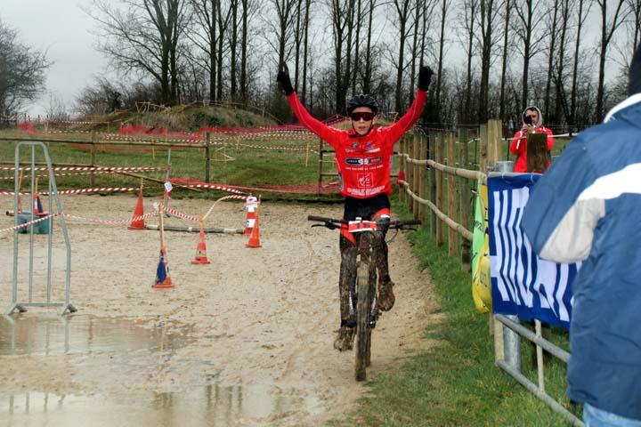 1er Cyclo cross VTT UFOLEP de Saulzoir Montrécourt ( Minimes )