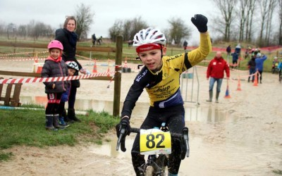 1er Cyclo cross VTT UFOLEP de Saulzoir Montrécourt ( Ecoles de cyclisme )