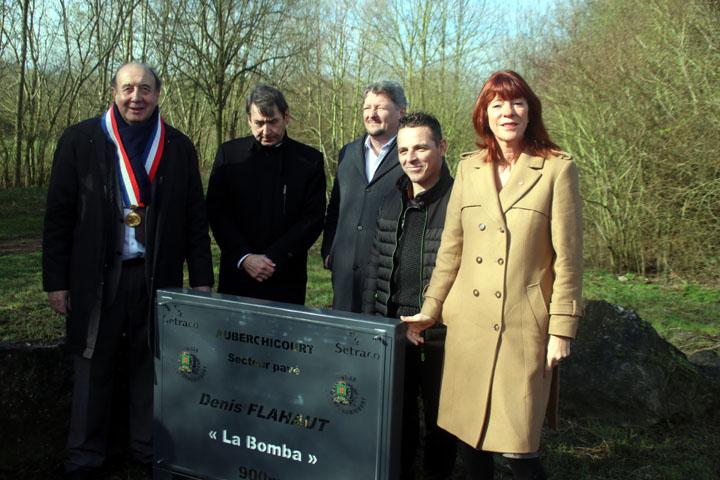Inauguration du secteur Pavé «  Denis Flahaut »