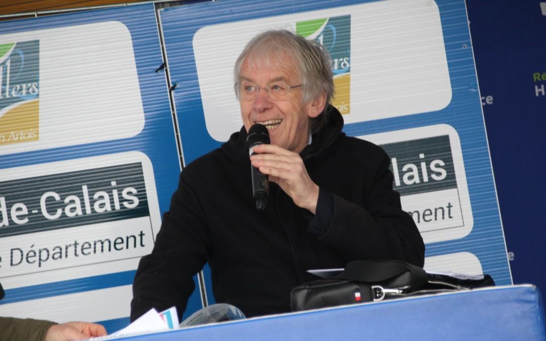 Rencontre avec Daniel Mangeas ( Speaker courses cyclistes )