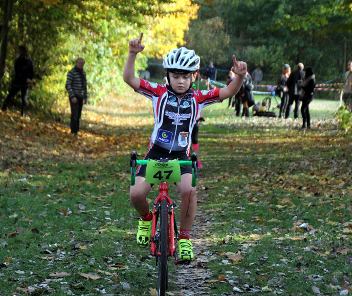 Cyclo cross VTT UFOLEP Bleuse Borne à Anzin ( Ecoles de cyclisme )