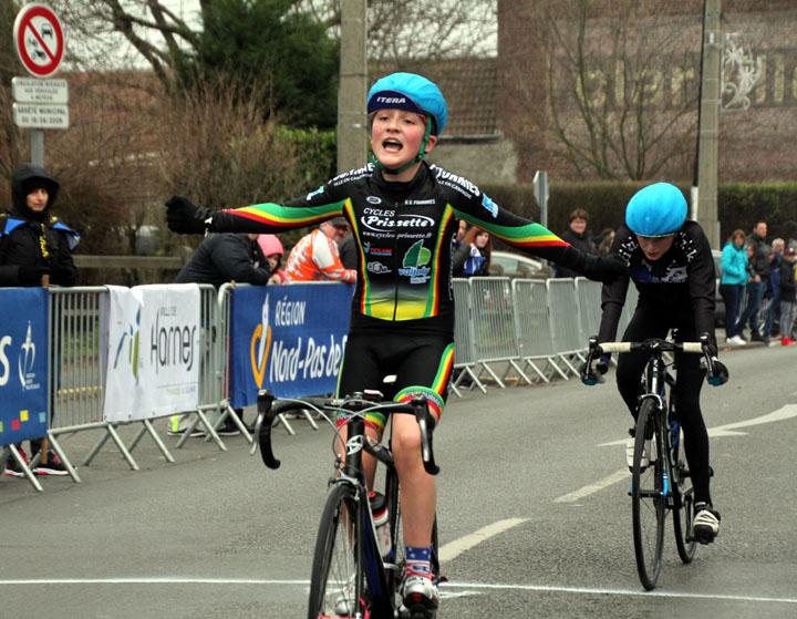 5ème Grand Prix cycliste UFOLEP de la Gaillette à Harnes ( Ecoles de vélo )