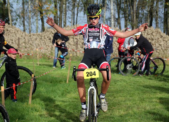 Cyclo cross VTT UFOLEP de Marly (  Minimes – Cadets et Féminines )