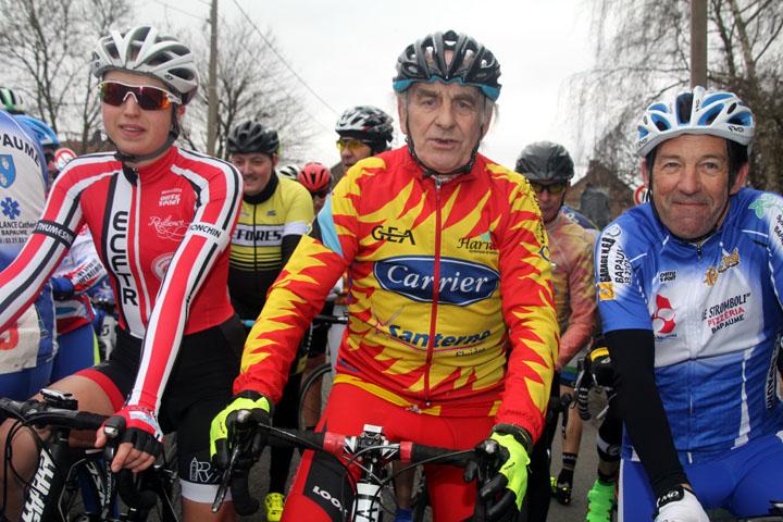 Présentation du 6ème Grand Prix cycliste UFOLEP de la Gaillette à Harnes
