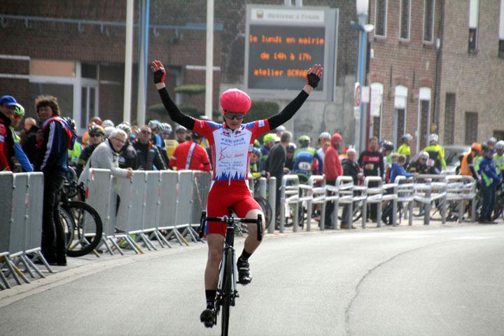 9ème Prix cycliste UFOLEP « Emile Broutin » à Fenain ( Ecoles de cyclisme )