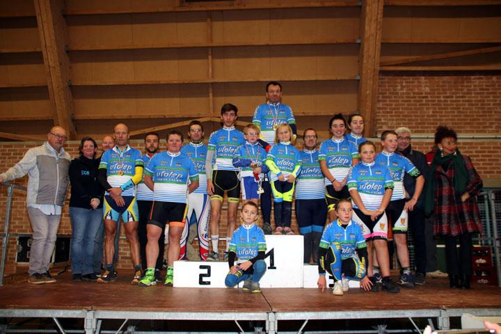 Championnat départemental du Pas de Calais cyclo cross UFOLEP à Agny ( Adultes )