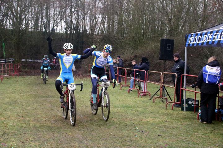 3ème Cyclo cross UFOLEP de Solesmes ( Séniors 1 2 3 cat )