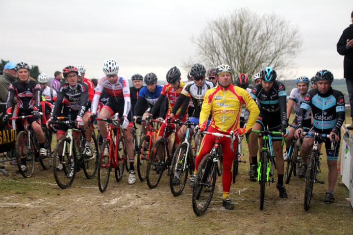 Présentation du Championnat National Cyclo cross UFOLEP à Salouel