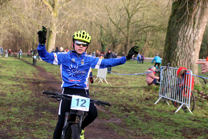 Cyclo cross VTT UFOLEP de Rouvroy ( Ecoles de cyclisme )